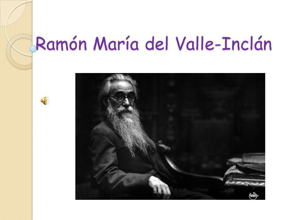 Ram n mar a del valle incl n ppt descargar for Jardin umbrio valle inclan