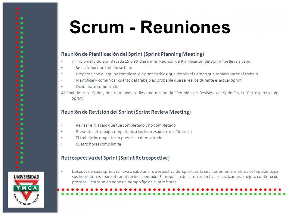Scrum - Reuniones Reunión de Planificación del Sprint (Sprint Planning Meeting)