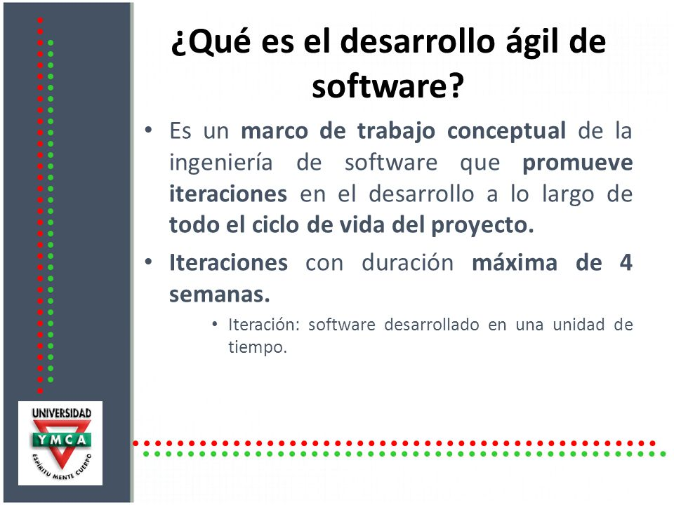 ¿Qué es el desarrollo ágil de software