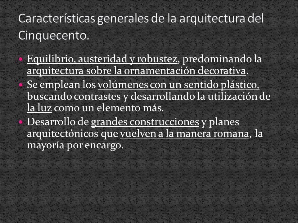 La arquitectura del cinquecento ppt descargar for Arquitectura quattrocento y cinquecento