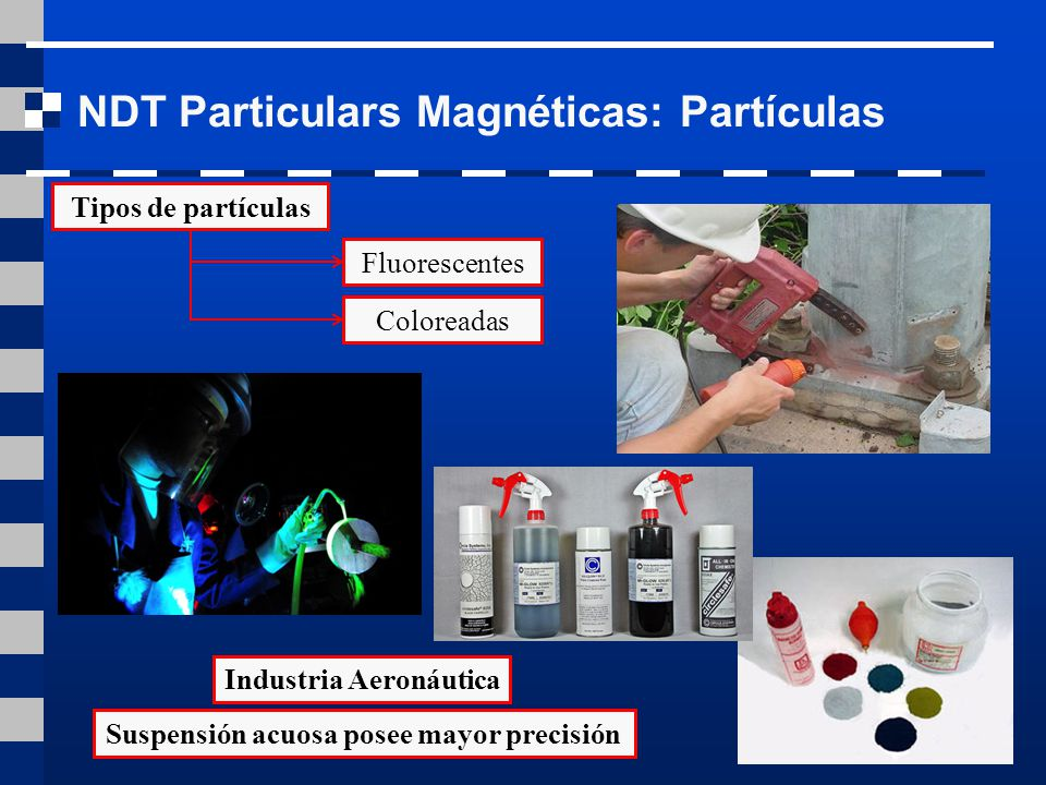 Practica ensayos no destructivos por part culas for Tipos de fluorescentes