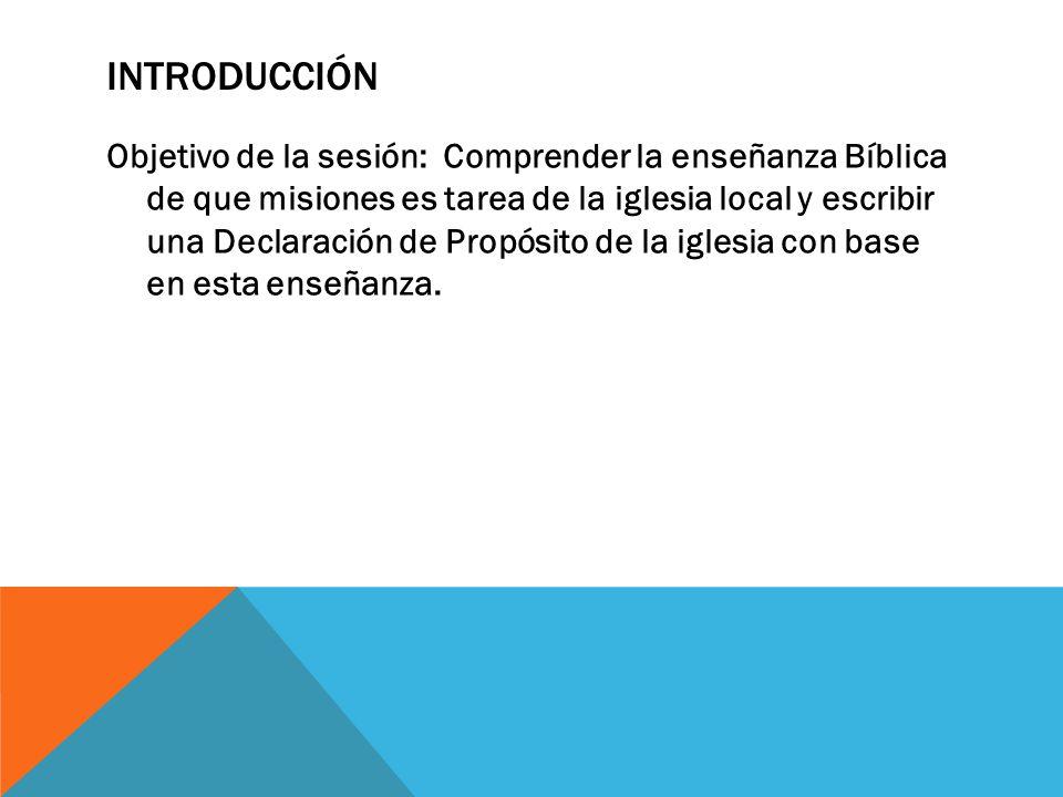 Plantando Iglesias Misioneras - ppt descargar