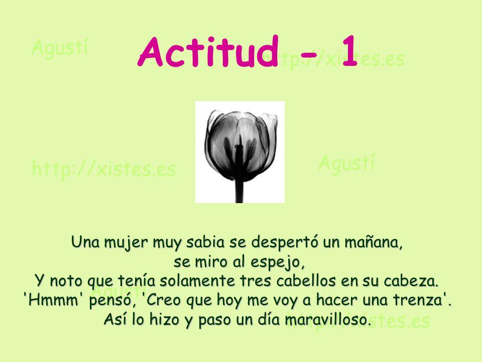 Actitud - 1