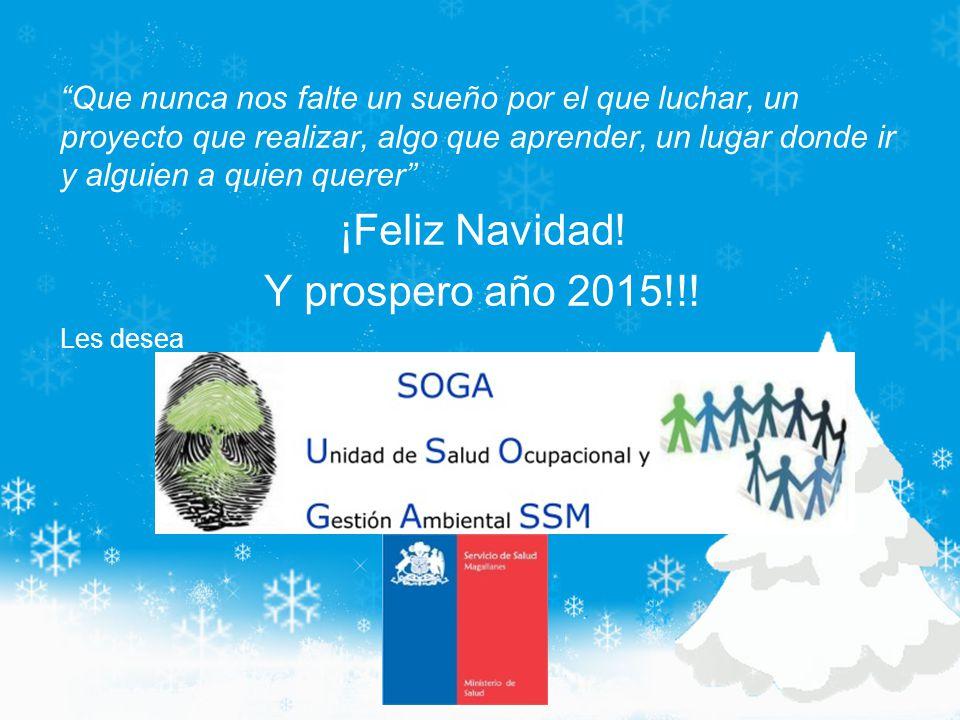 ¡Feliz Navidad! Y prospero año 2015!!!