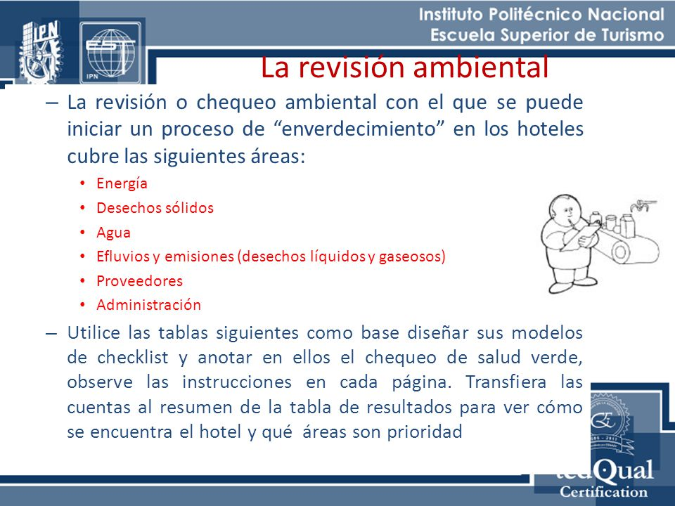 Sistemas de gesti n ambiental para el turismo ppt video for Como disenar un hotel