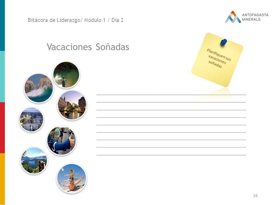 Planifiquen sus vacaciones
