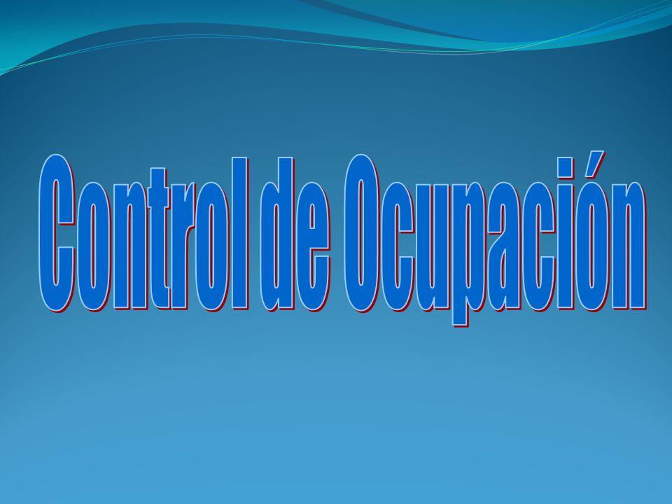 Control de Ocupación