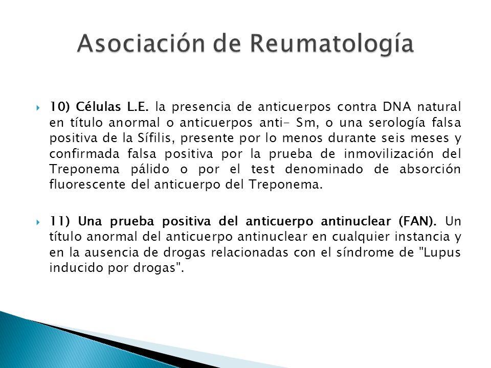 Asociación de Reumatología