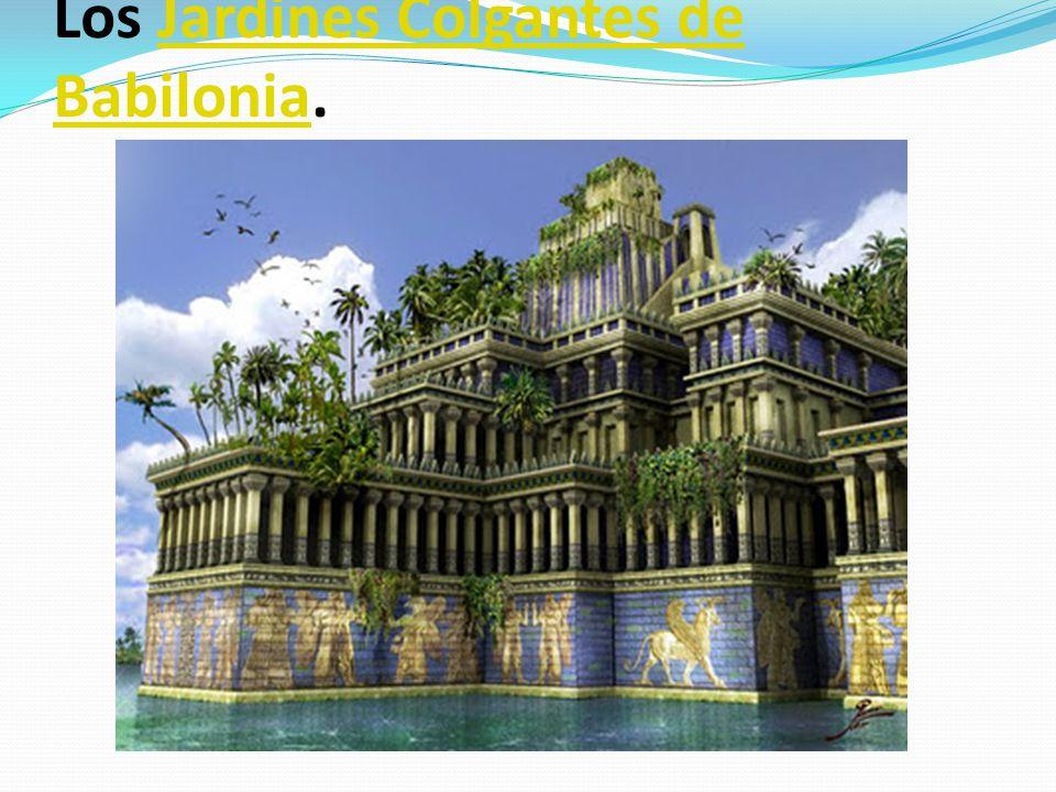 Las 7 maravillas del mundo antiguo ppt descargar for Jardines colgantes de babilonia
