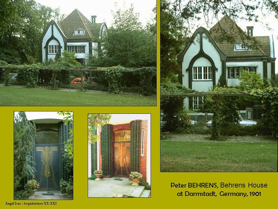Dw muthesius behrens ppt descargar for Behrens house