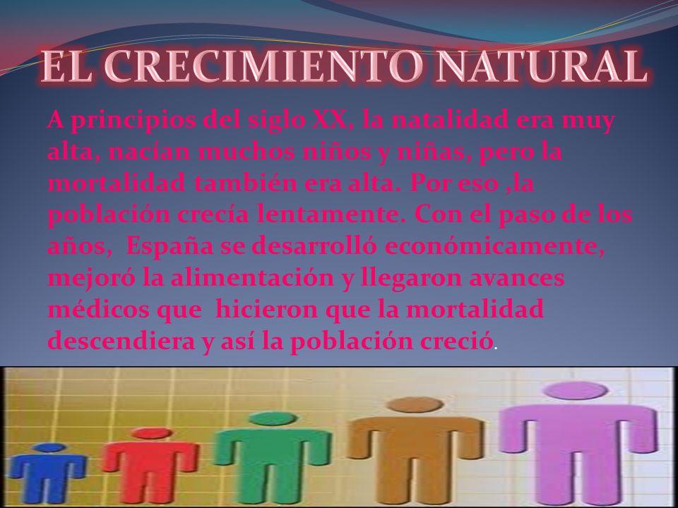 EL CRECIMIENTO NATURAL