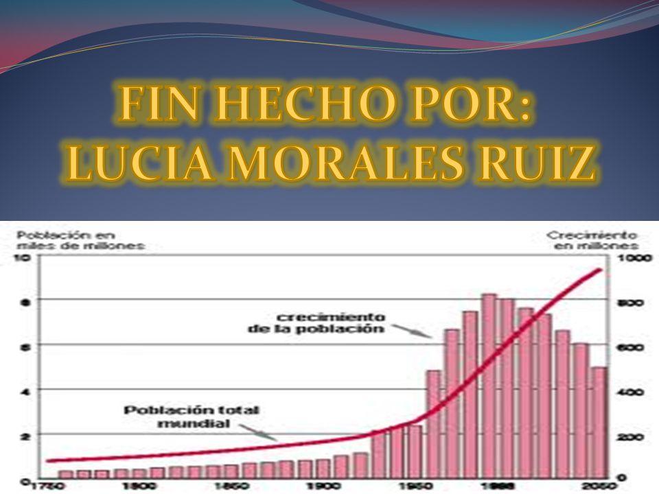 FIN HECHO POR: LUCIA MORALES RUIZ
