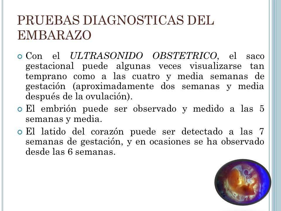PRUEBAS DIAGNOSTICAS EN EL EMBARAZO - ppt descargar
