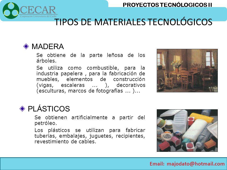 Proyectos tecnologicos i ppt video online descargar - Tipos de materiales de construccion ...