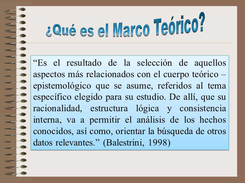 CAPITULO II. MARCO TEORICO - ppt descargar
