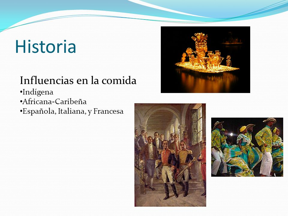 Comida colombiana ppt descargar for Gastronomia francesa historia