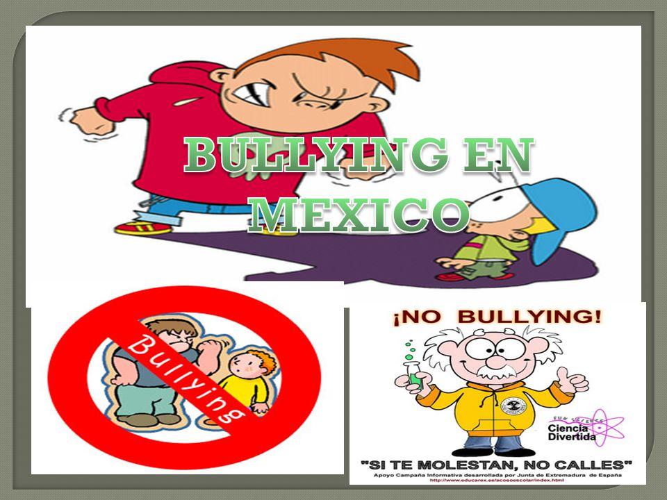 BULLYING EN MEXICO