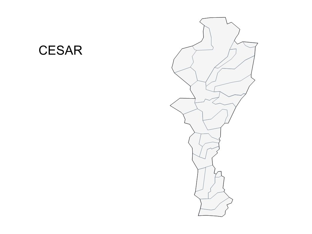 Mapa político en vectores de Colombia - Departamentos Y Municipios ...