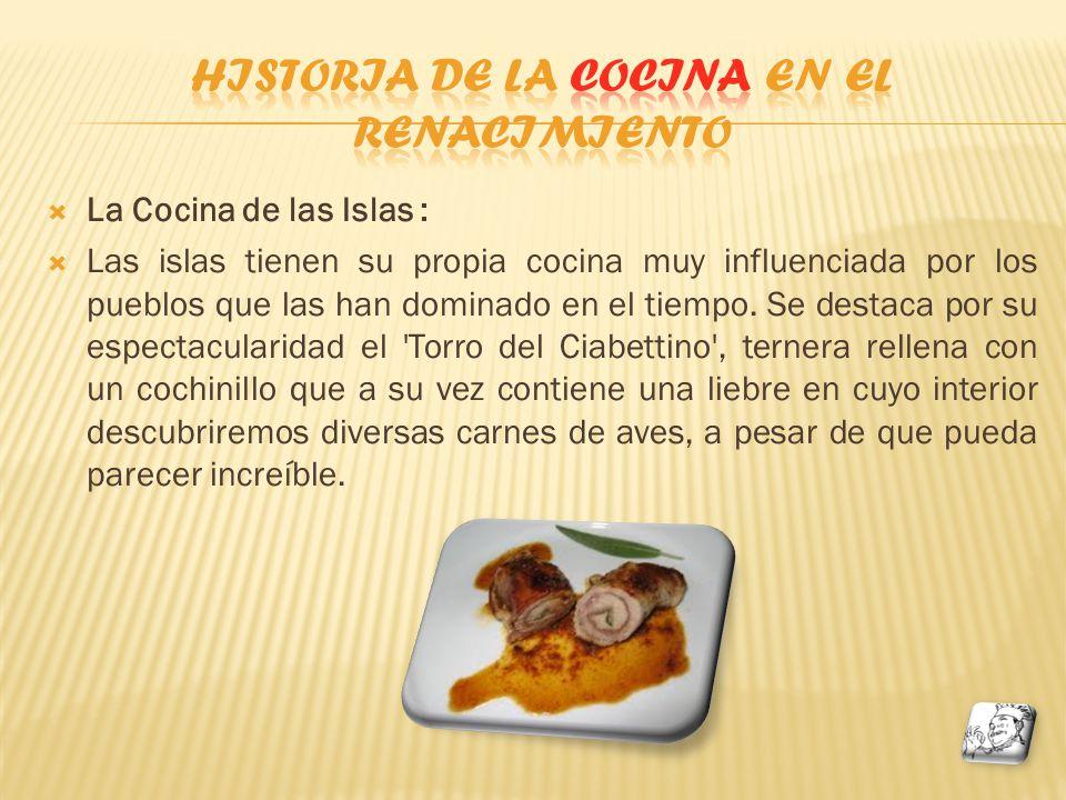 historia de la cocina en el renacimiento proyecto 9 ppt