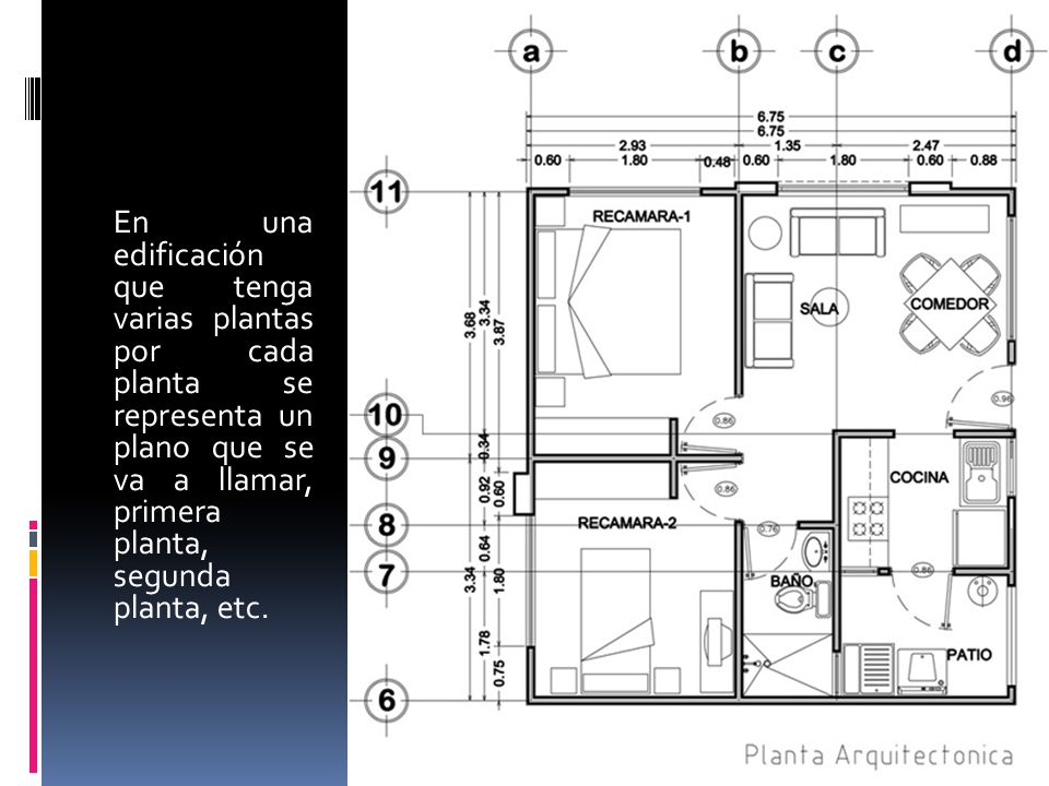 dibujo arquitectonico arq indira alfaro guti rrez ppt