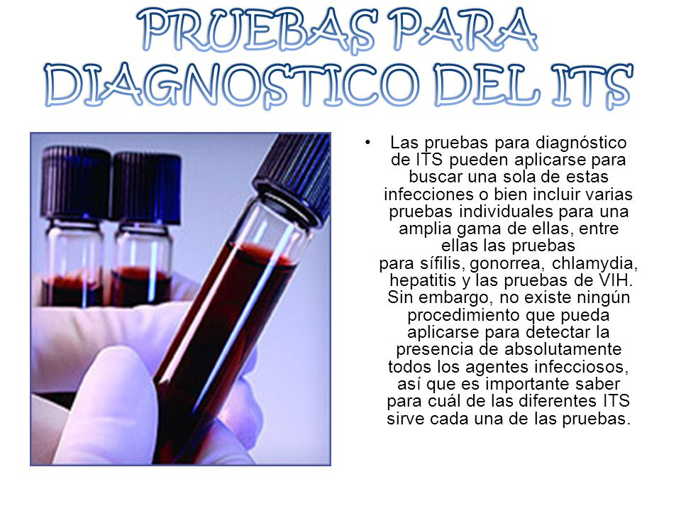 PRUEBAS PARA DIAGNOSTICO DEL ITS