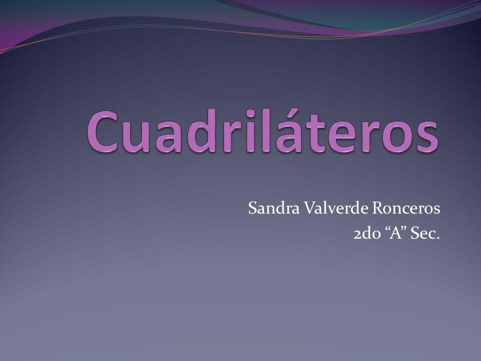 Sandra Valverde Ronceros 2do A Sec.