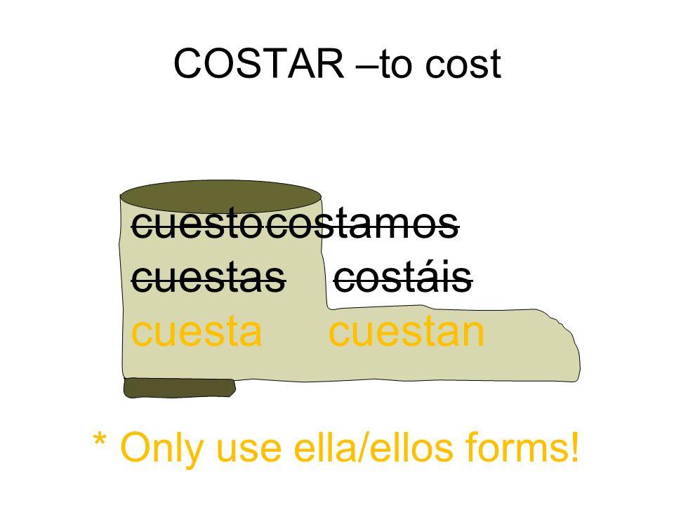 Costar Conjugation 53574 | IMGFLASH