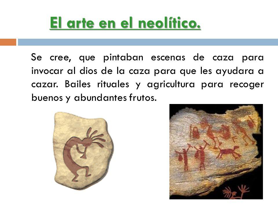 El arte en el neolítico.