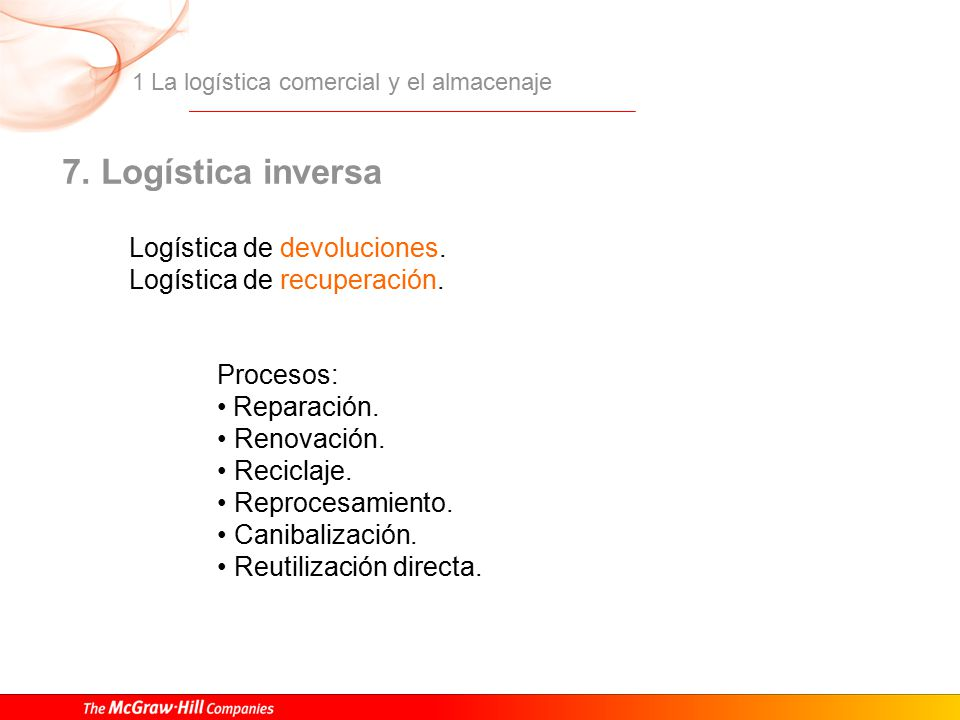 Logistica comercial mcgraw hill