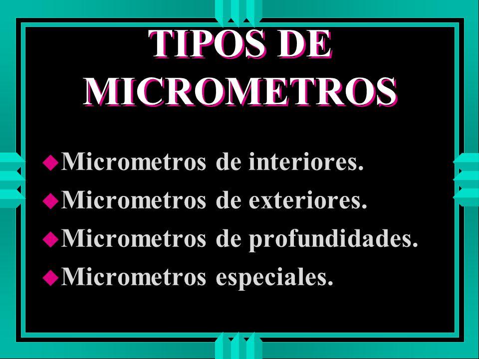 Micrometros por j a s m ppt descargar - Micrometro de interiores ...
