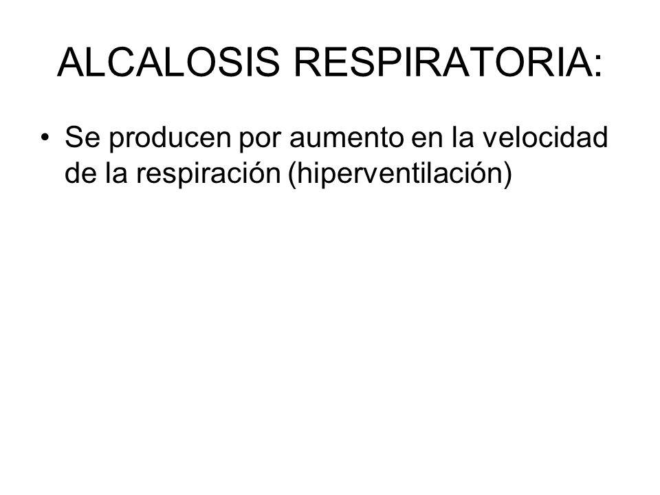 ALCALOSIS RESPIRATORIA: