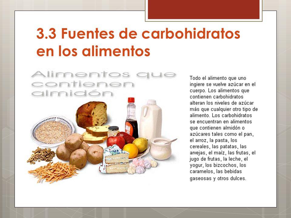 Unidad iii carbohidratos ppt descargar - Que alimentos contienen carbohidratos ...