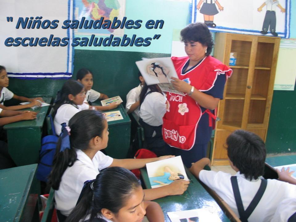 Niños saludables en escuelas saludables