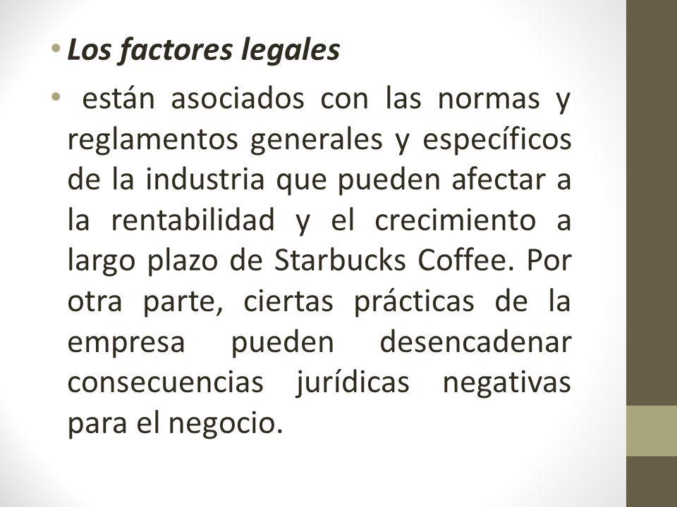 Los factores legales