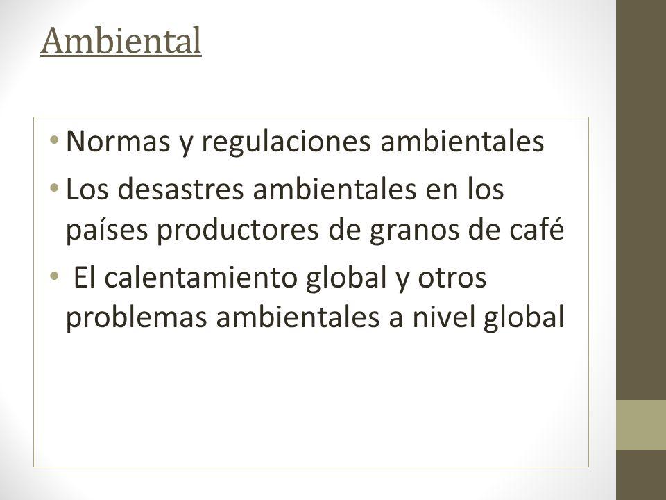 Ambiental Normas y regulaciones ambientales