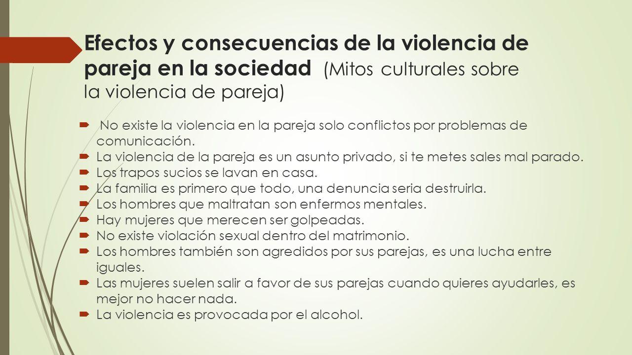 Efectos de la violencia de pareja en adultos