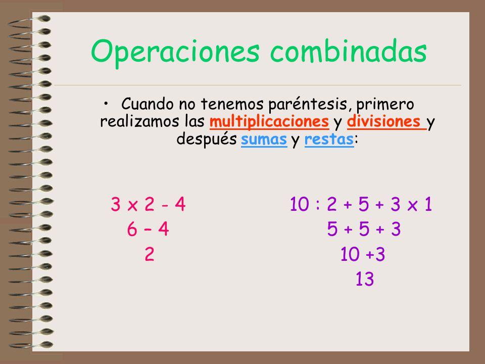 Operaciones combinadas - ppt video online descargar