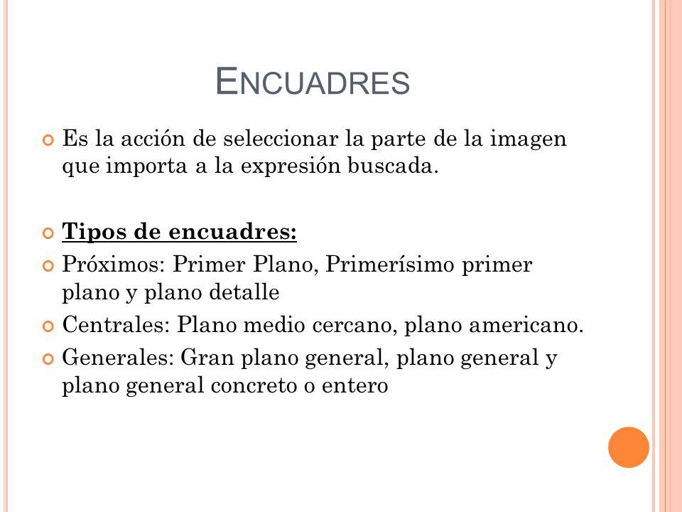 Elementos del lenguaje audiovisual - ppt descargar