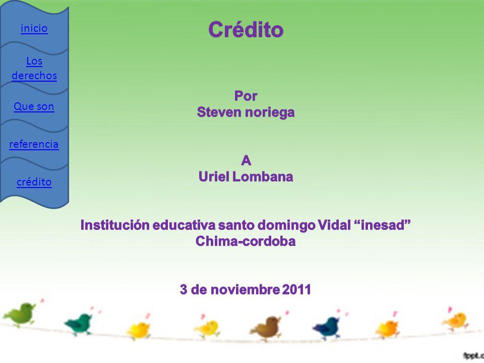 Institución educativa santo domingo Vidal inesad