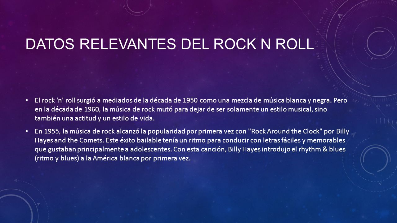 Mezcla de rock and roll remix