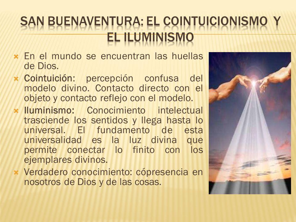 San buenaventura: el cointuicionismo y el iluminismo