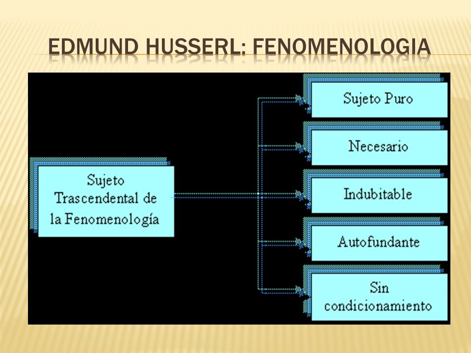 Edmund husserl: fenomenologia