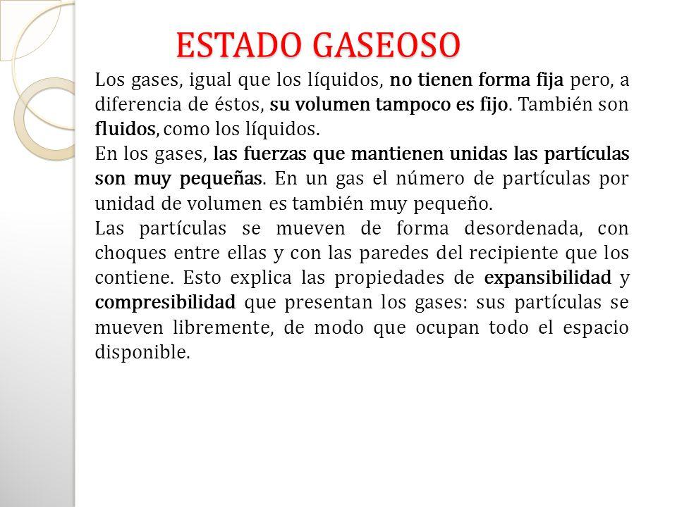 ESTADO GASEOSO