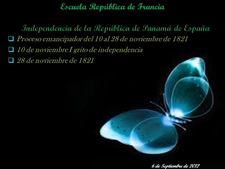 Independencia de la República de Panamá de España