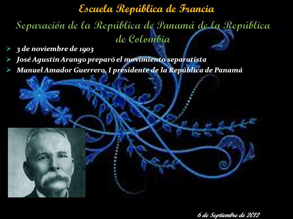 Separación de la República de Panamá de la República de Colombia