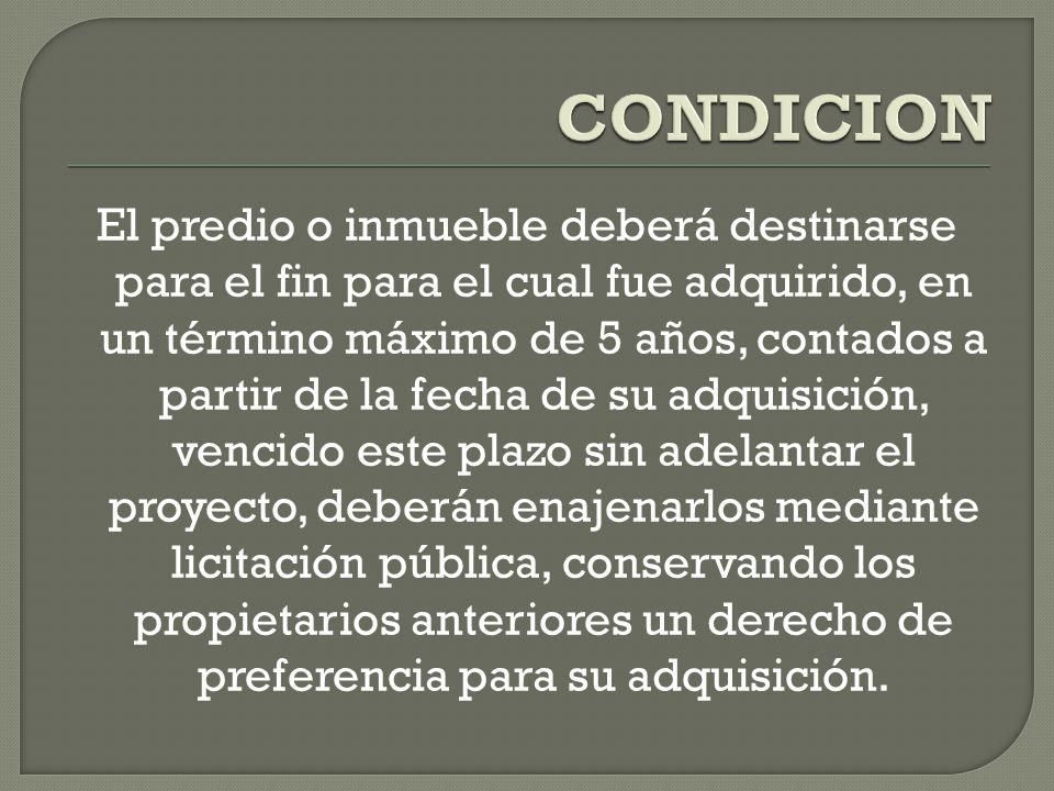 CONDICION