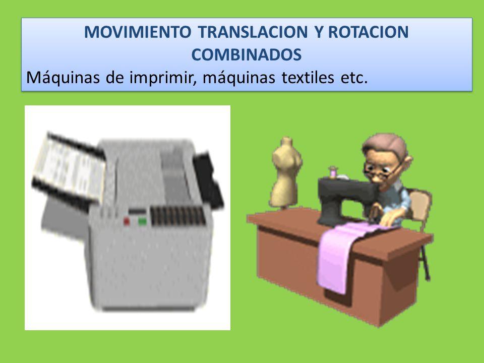 MOVIMIENTO TRANSLACION Y ROTACION COMBINADOS