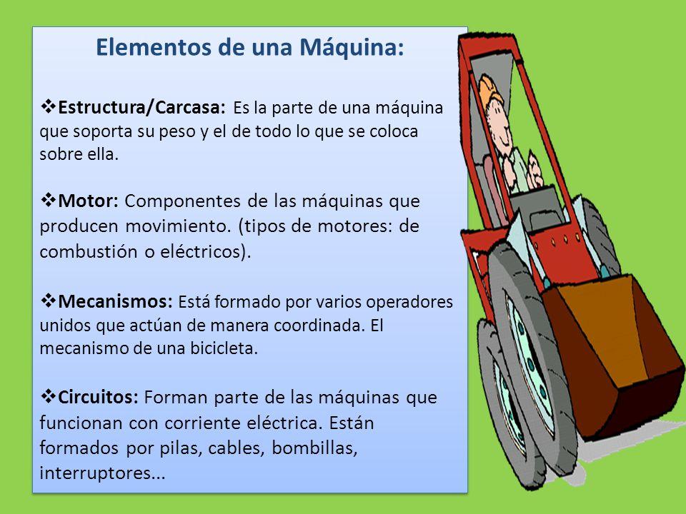 Elementos de una Máquina: