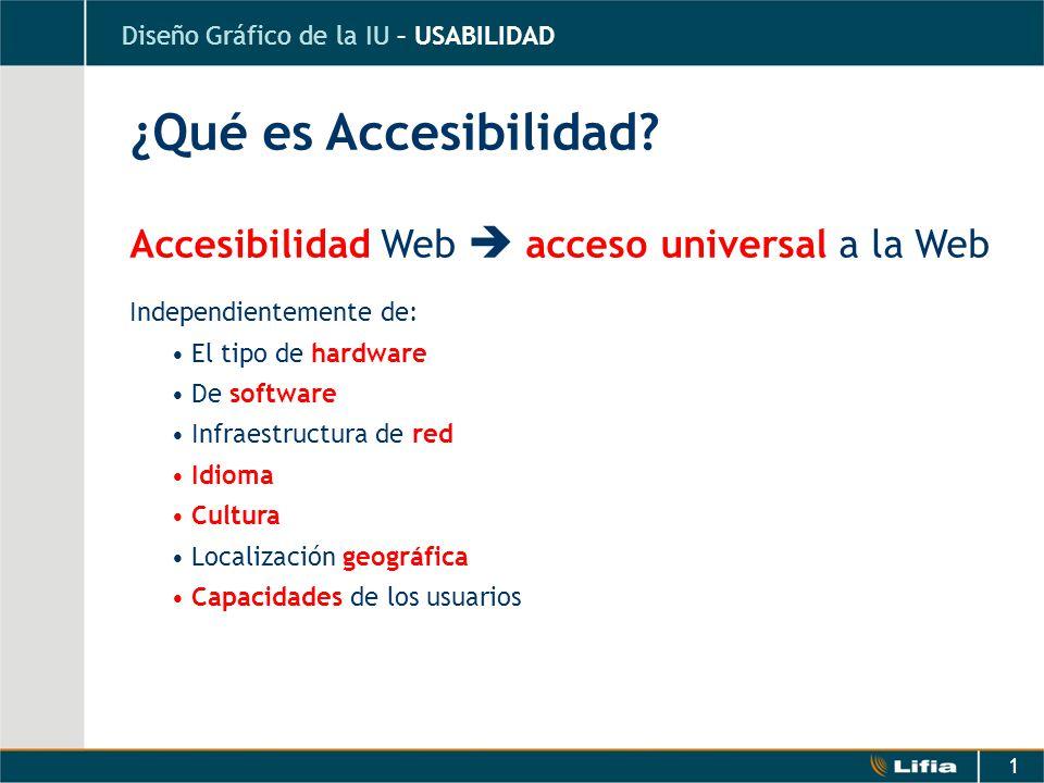 Qu es accesibilidad accesibilidad web acceso universal for Que es accesibilidad