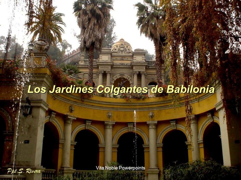 Copyright 2007 sylvette rivera ppt descargar for Jardines colgantes babilonia
